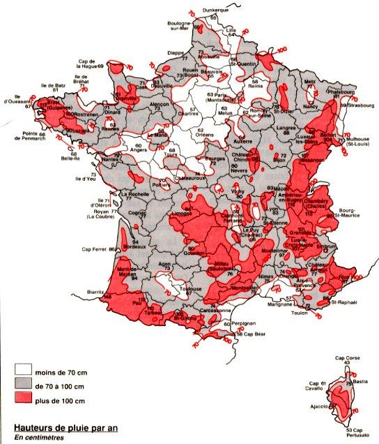 Cartes : La France en carte - www.alertes-meteo.com