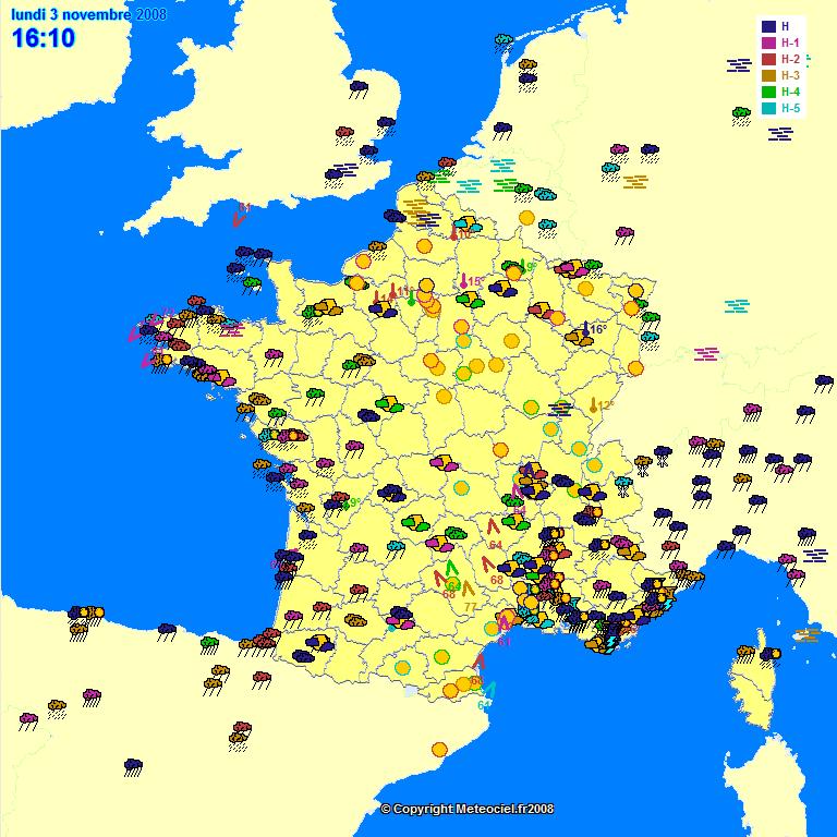 Meteo France Hiver 2008 2009 Previsions En France De L