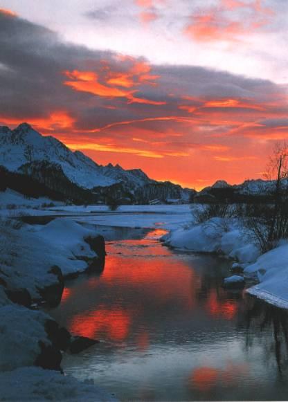 Photos gratuites et libres de droit sur les couch de soleil - Photo coucher de soleil montagne ...